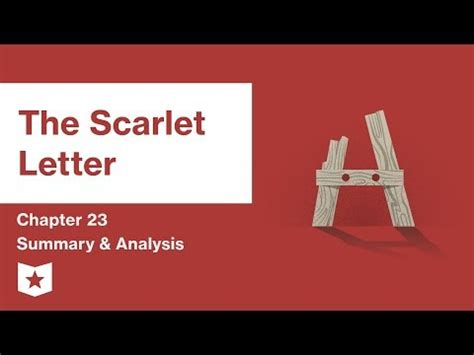 Symbolism in the scarlet letter essay conclusion